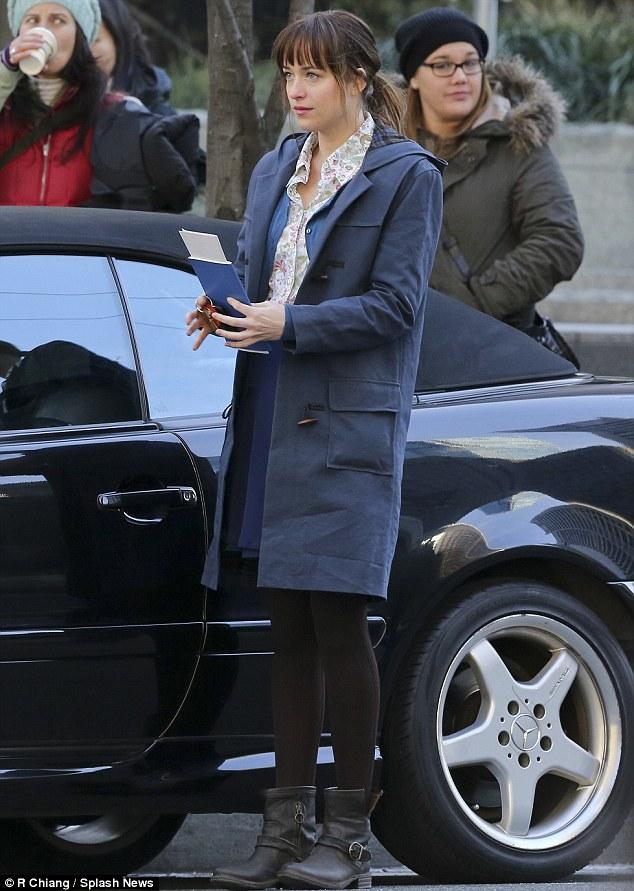 Christian Grey Amp Anastasia Steele Share First Kiss