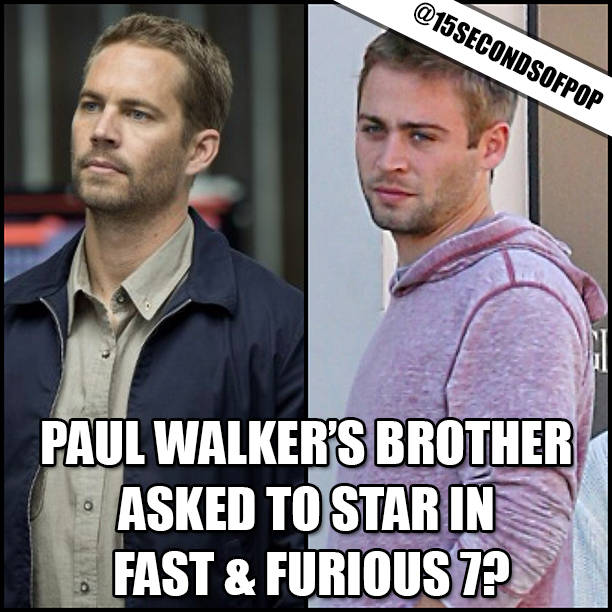 Paul Walker Look Alike Brother A close up of paul's face,