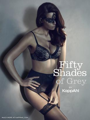 Fifty Shades of Grey Lingerie Line