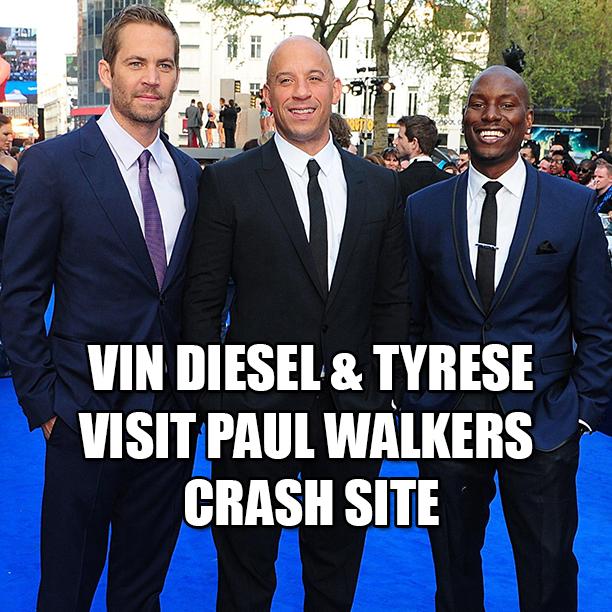 Vin Diesel and Tyrese ...