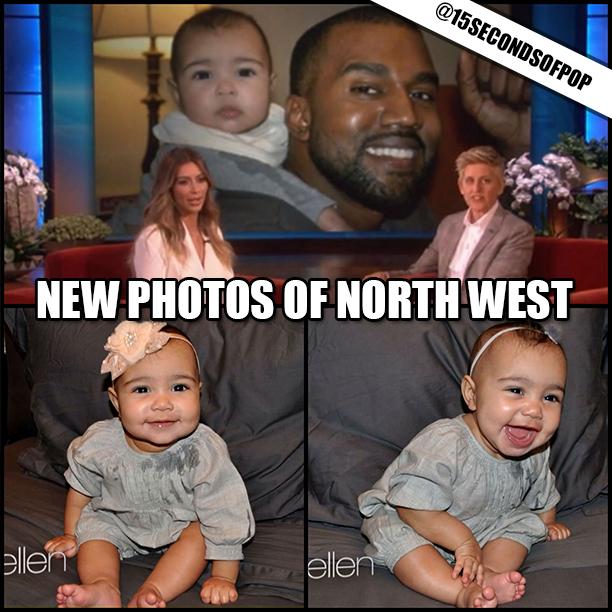 Kim Kardashian Shares New Photos of North West ...