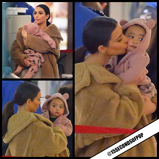 Kim kardashian baby north west 2014