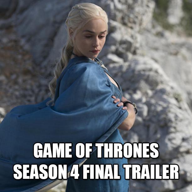 Game Of Thrones Season 4 Trailer #4