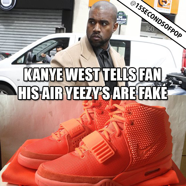 Kanye West Signs DJ Greg Street's Yeezy Collection | TheShoeGame