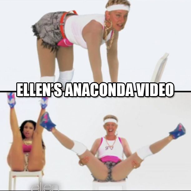 ELLENS_ANACONDA_VIDEO