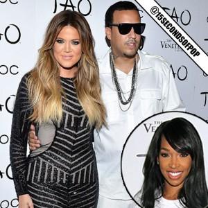 Khloe Kardashian French Montana And Malika Haqq Drama