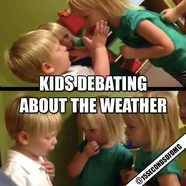 Kids-Debating-About-The-Weather-Video