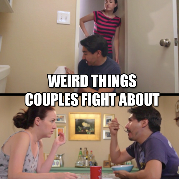 Weird Things Couples Fight About Viral Video