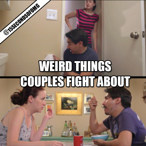 Weird Things Couples Fight About Viral Video1