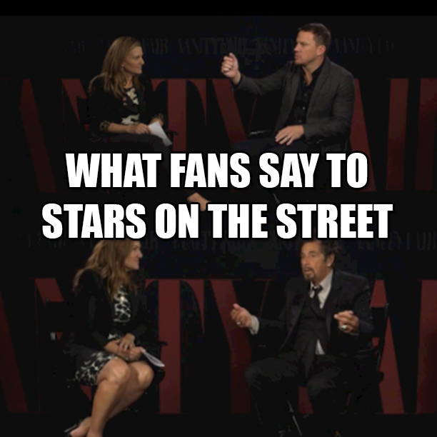 what_fans_say_to_stars_on_the_street
