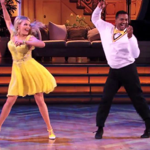 Alfonso Ribeiro Does The Carlton On Dancing With the Stars