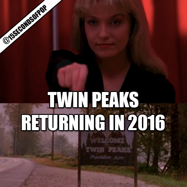 Twin Peaks Returning in 2016 To Showtime
