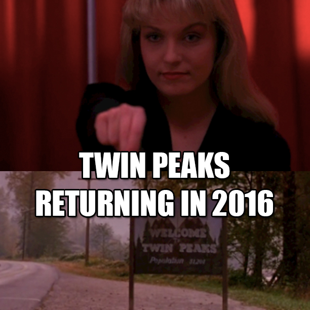 Twin Peaks Returning in 2016 To Showtime1