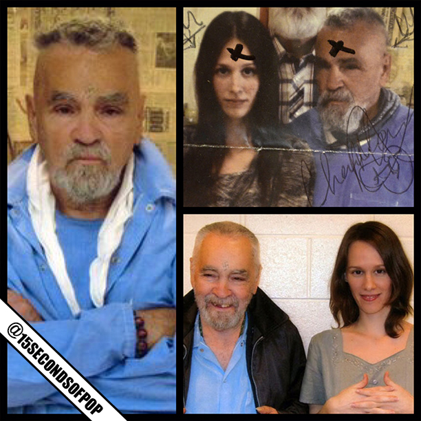 Charles manson is set to marry his girlfriend star