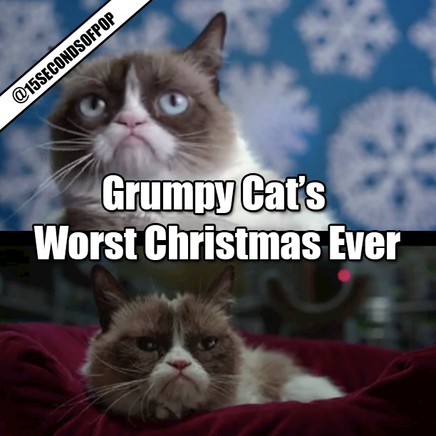 Grumpy cata worst christmas ever movie trailer 15secondsofpop grumpy cats worst christmas ever thecheapjerseys Choice Image