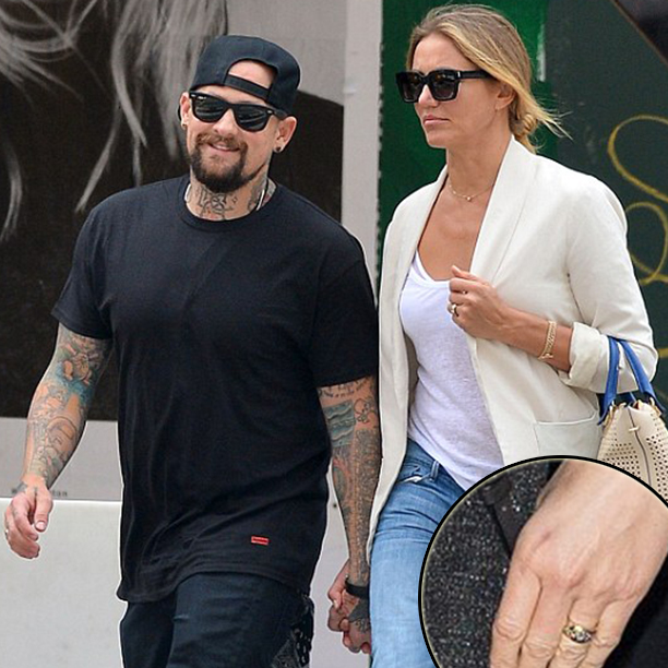 Cameron Diaz and Benji Madden Are Engaged!1