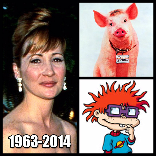 Voice of Chuckie From Rugrats Christine Cavanaugh Has Died1