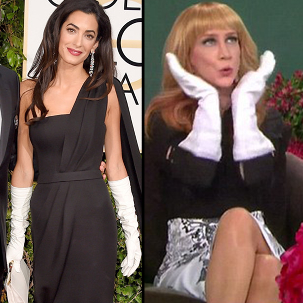 Fashion Police Returns With Kathy Griffin- Targets Amal Clooney1